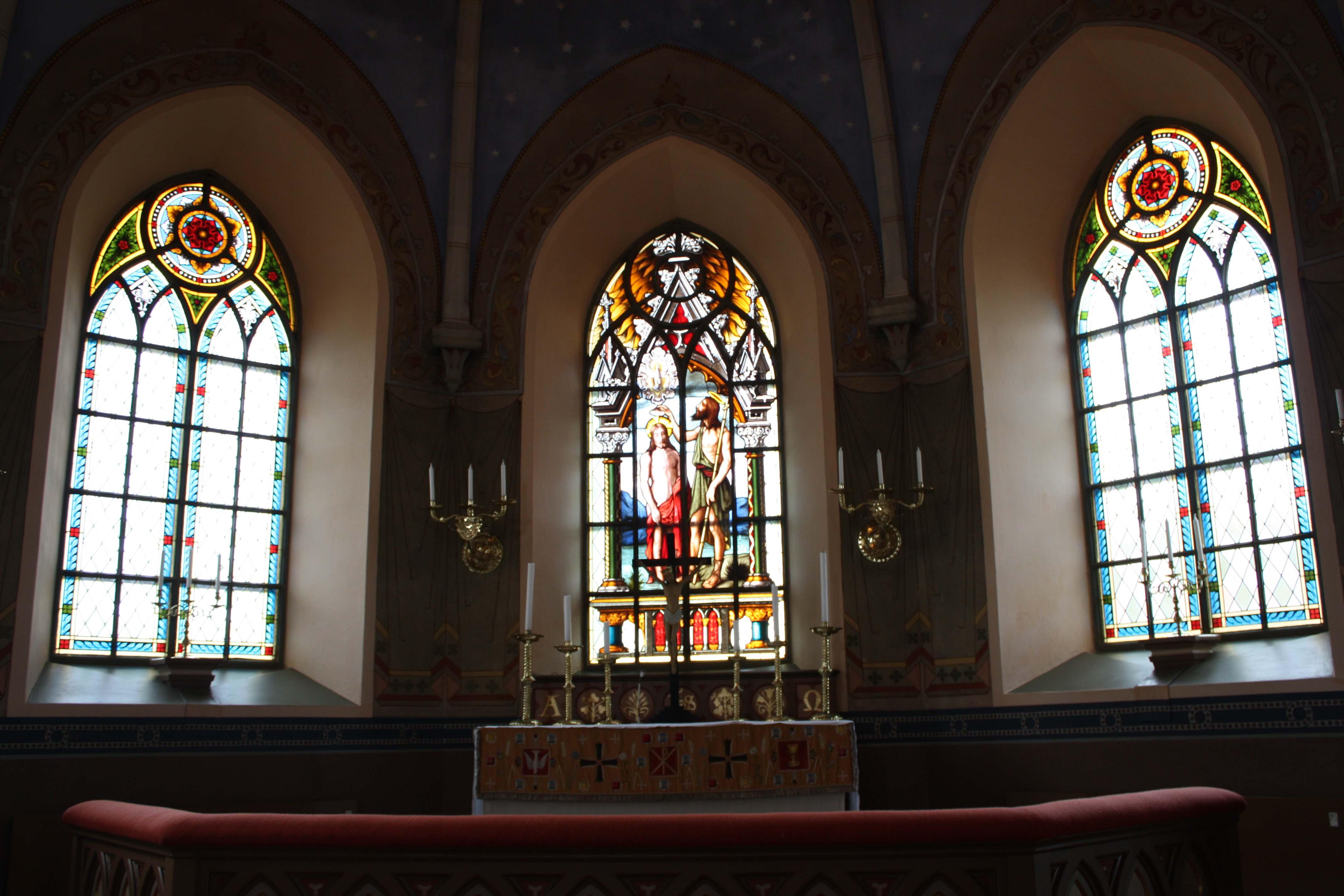 koret nya kyrkan
