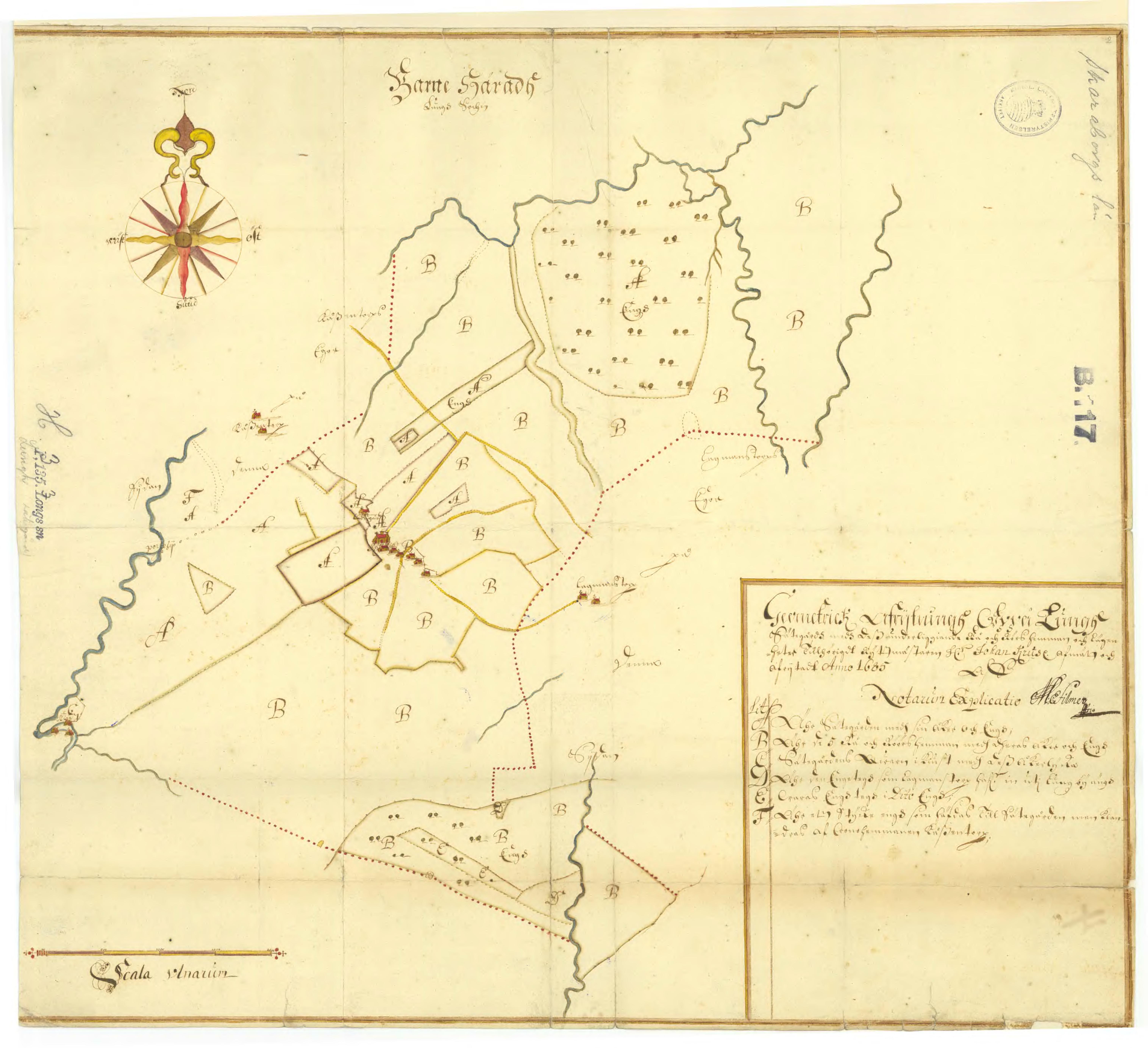 Karta 1685