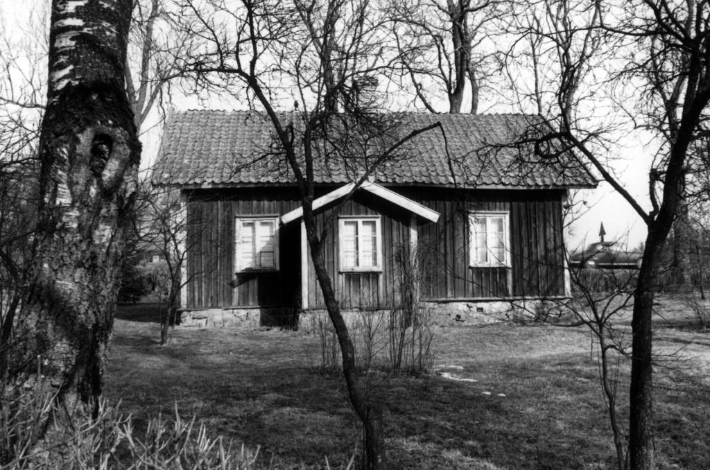 Undantagsstuga på Per-Olofsgården Long. Byggd av Sven Jansson