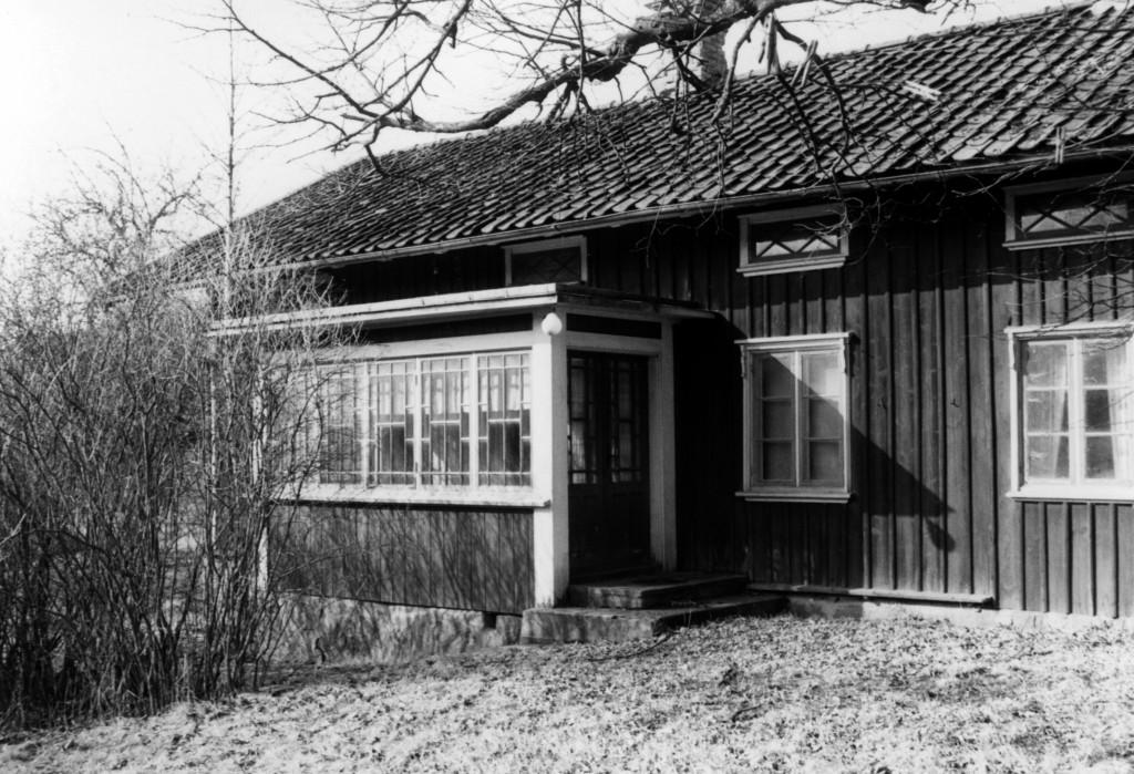Petter Anderssons hus på Stommen Long