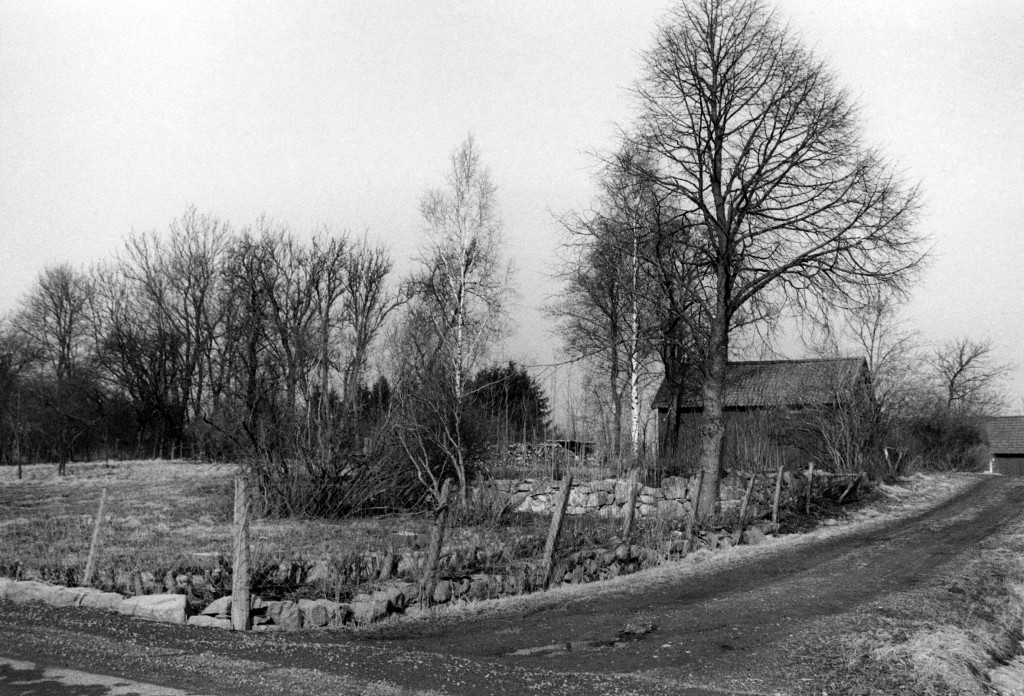 Gamla prästgårdstomten, komministerbostad till i slutet på 1930-talet
